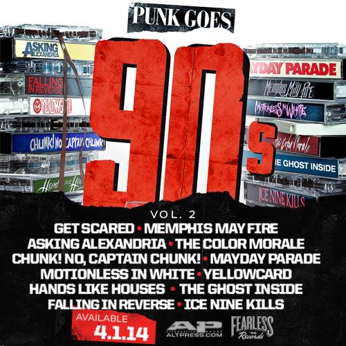 fearless records release punk goes 90s vol 2 track list talk music to me. Black Bedroom Furniture Sets. Home Design Ideas