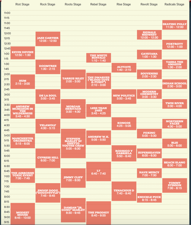 Riot Fest Chicago – Talk Music To Me