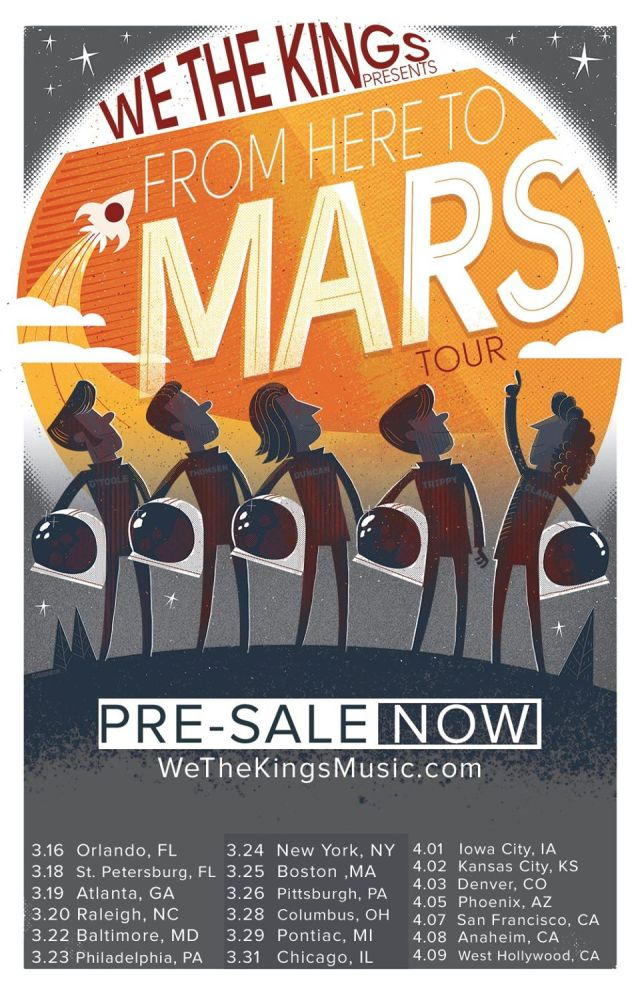 We-The-Kings-From-Here-To-Mars-Tour-poster
