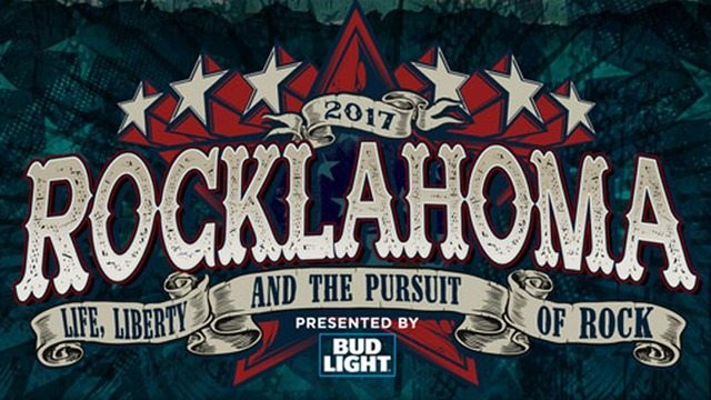 Rocklahoma 2017 banner