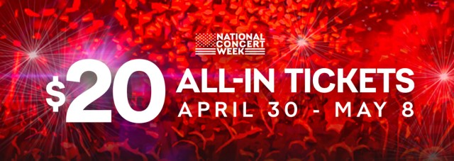 LiveNationNationalConcertWeek