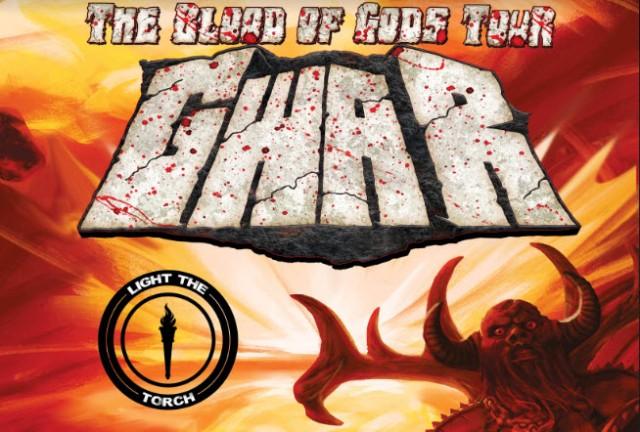 GWAR Tour - The Blood of Gods tour