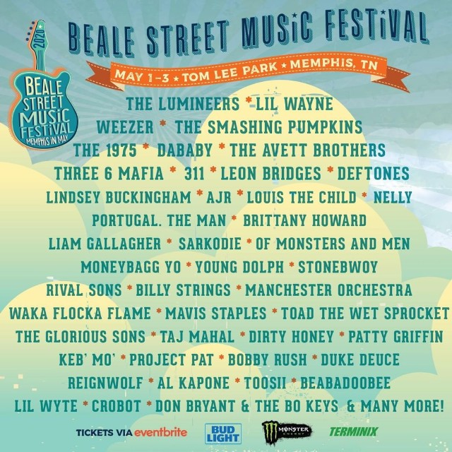 Beale-Street-Music-Festival-lineup